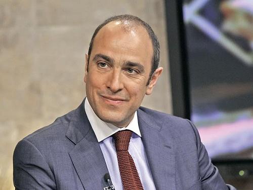 Alberico Peyron, Presidente de la Cámara de Comercio Italiana en México, sí sabe de pizzas.