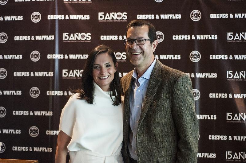 Cristina Macaya y Juan Pablo García.
