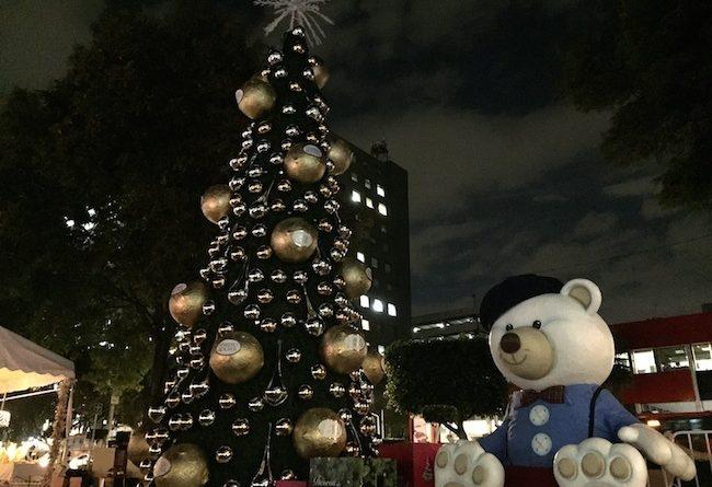 Ferrero Rocher encendió su tradicional Árbol de Navidad en la #CDMX