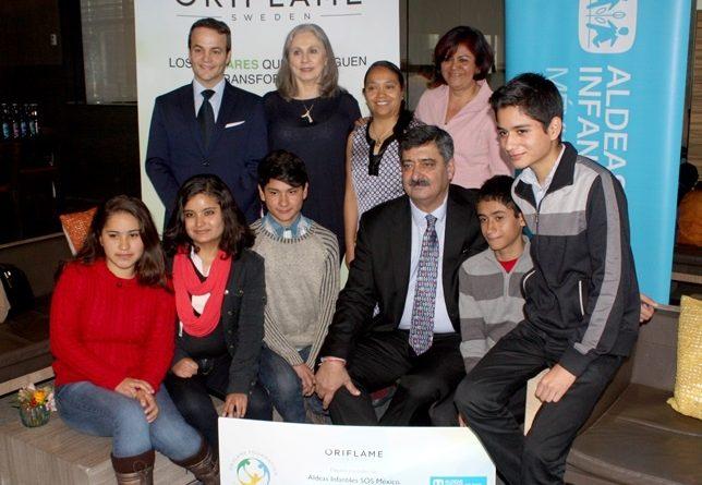 Oriflame cierra el año con donativo a niños y niñas de Aldeas SOS México