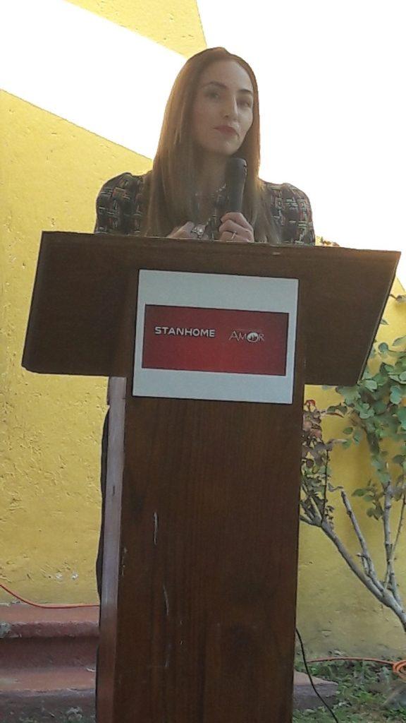 Samara Araiza, Gerente de Activación de Marca y Comunicación de Stanhome .