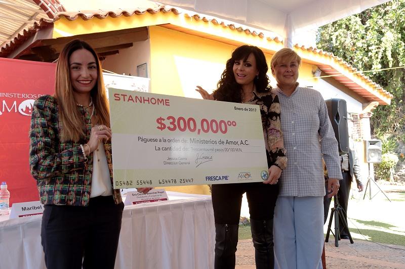 Donativo Stanhome- Ministerios de Amor- 120117