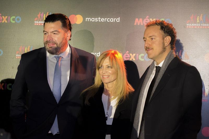 José Luis De la Vega, Lourdes Berho, Alonso Vera.
