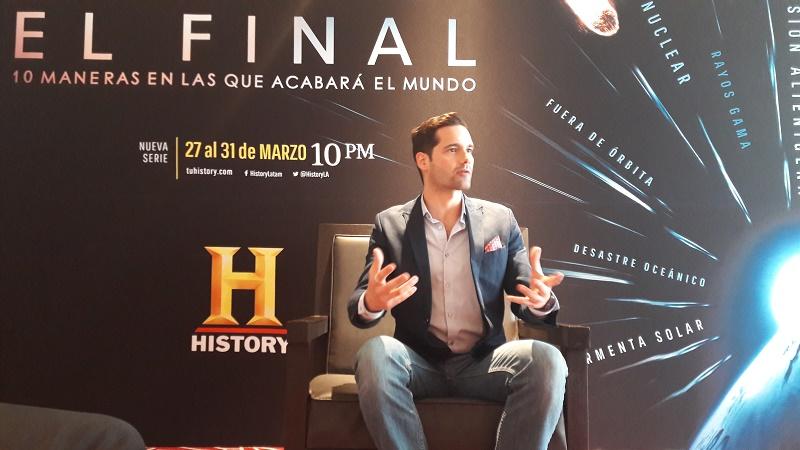 Luis Quevedo platicando con Bienestar Al Día.