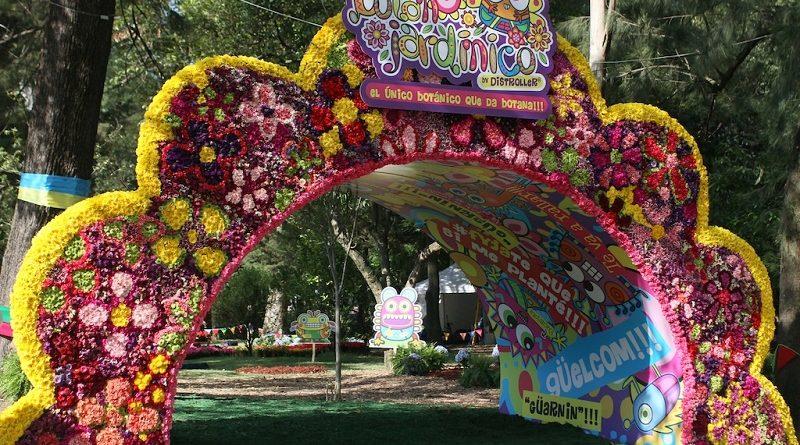 Inicia el Festival Flores y Jardines 2017