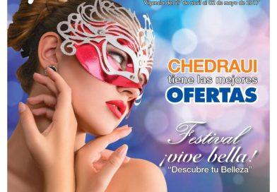 """Chedraui te invita a su festival """"¡Vive bella!"""""""