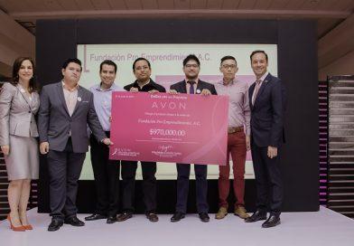 Avon dona 9 millones de pesos para hacer frente a la lucha contra el Cáncer de Mama