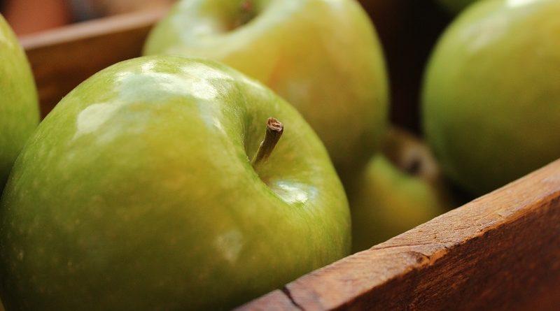 Propiedades de las manzanas de acuerdo con su color
