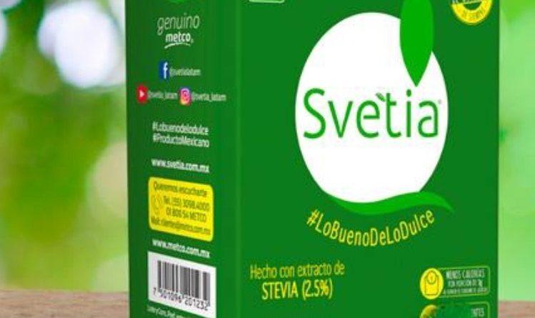 Svetia recibe aval como producto apto para personas que