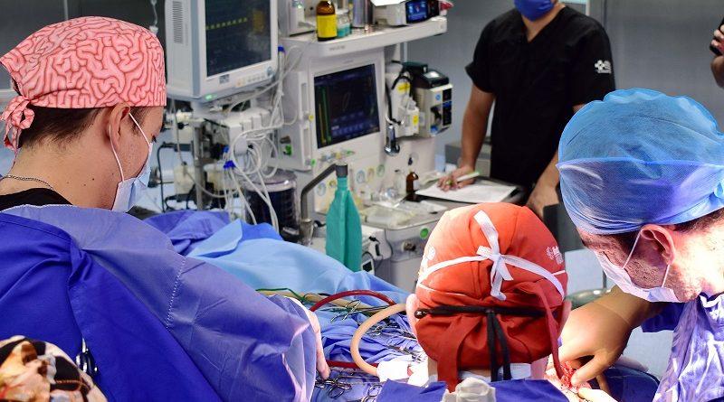 Exitoso el Quirófano Híbrido del HGM; realiza 28 cirugías mensuales de alta complejidad