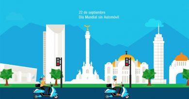 México se une al Día Mundial sin automóvil