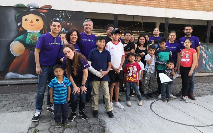 'Future Well Kids', el programa que busca cambiar la vida de niños y niñas de México con hábitos más saludables