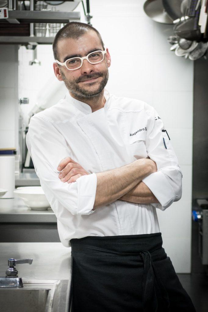 Chef Alejandro Sanchez.