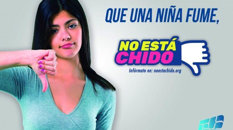 """""""No está chido"""": tolerancia cero al consumo de alcohol y tabaco en niñas, niños y adolescentes"""
