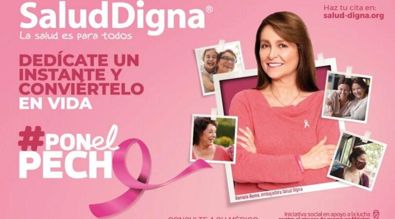 #PONelPECHO, campaña que te recuerda que es tiempo de tu mastografía anual